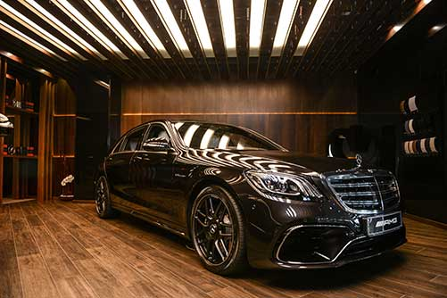 Панавто Mercedes-Benz S-lounge